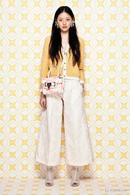 纯色阔腿裤
